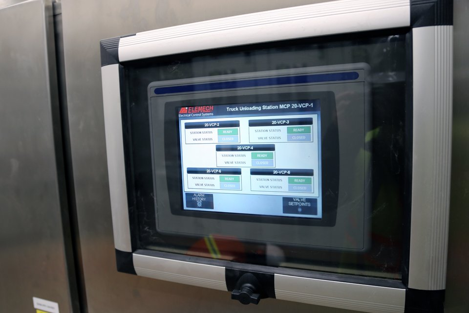 We custom build high perfomance HMIs for our control panels.